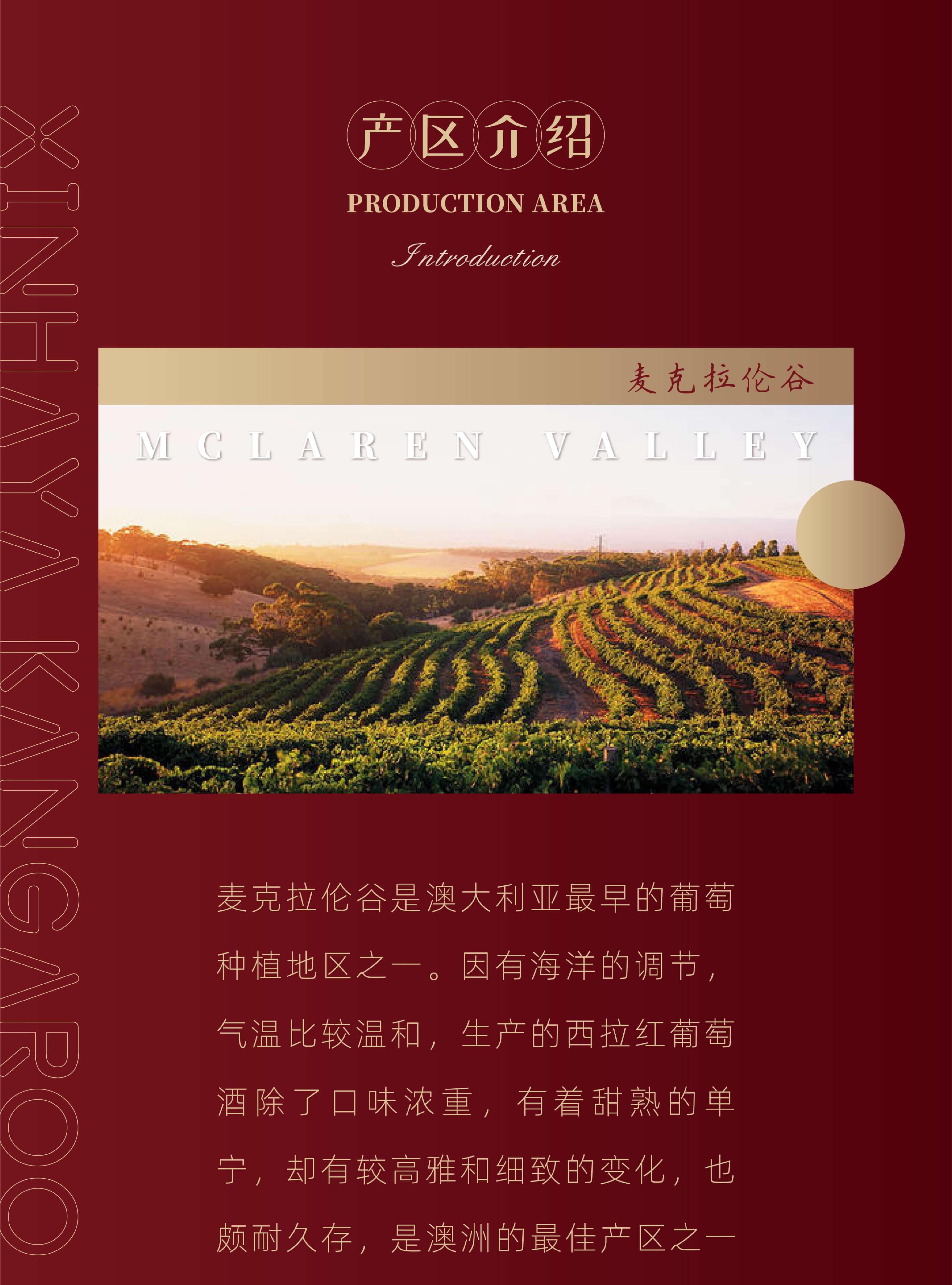 新涵养袋鼠绝色老藤.100葡萄酒